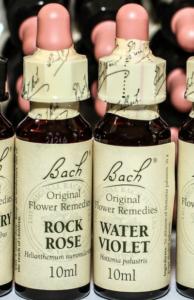 rock water fleurs de bach